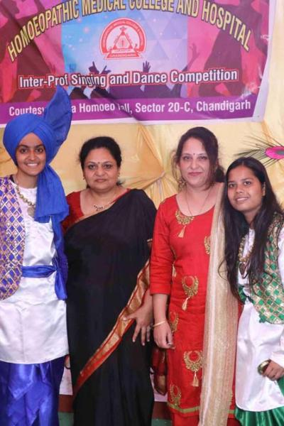 Homoeopathic Medical College, Chandigarh - Inter Prof Singing & Dance Competition